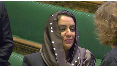 La députée britannique Naz Shah