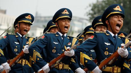 Durcissement moral pour les membres de l'armée chinoise