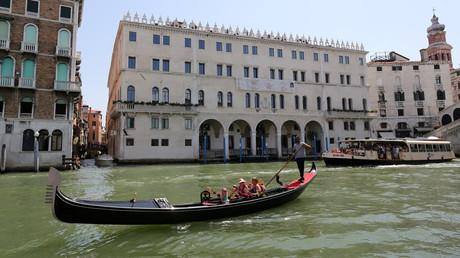 Les canaux de Venise, illustration ©Stefano Rellandini/Reuters