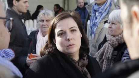 Emmanuelle Cosse pour les 10 ans de la mort de l'abbé Pierre me 22 janvier 2017.
