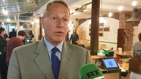 Le maire du 15e arrondissement Philippe Goujon