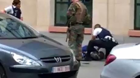 L'attaque au couteau contre des militaires à Bruxelles considérée comme terroriste