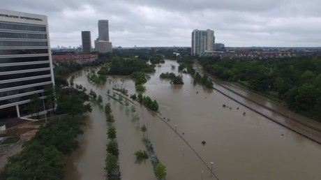 Découvrez l'étendue des inondations de la rivière Buffalo Bayo, au Texas