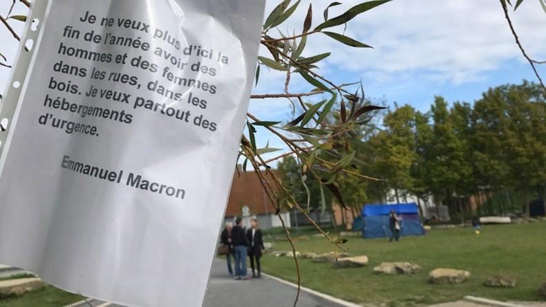 8 000 étudiants privés de cours à Reims à cause de migrants installés sur le campus (IMAGES)