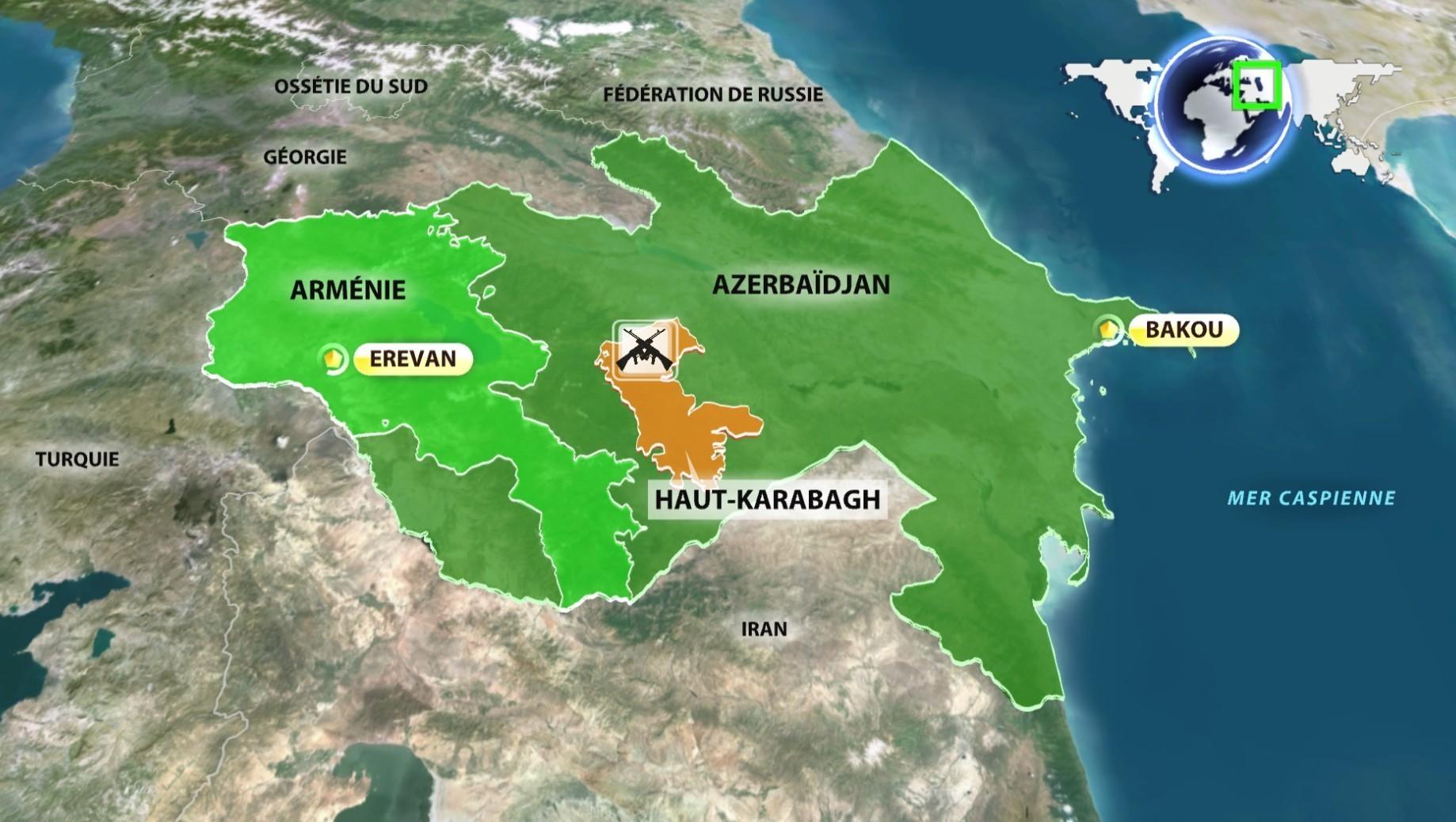 L'Arménie envisage le retour d'une partie du Haut-Karabagh au sein de l'Azerbaïdjan