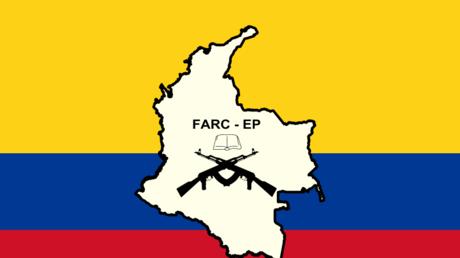 L'ancien emblème des FARC.