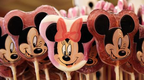 Des friandises vendues à Disneyland Paris.