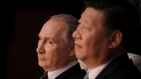 Xi Jinping et Vladimir Poutine
