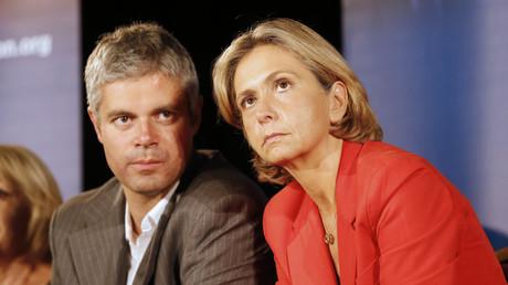 Laurent Wauquiez et Valérie Pécresse à Nice en octobre 2012