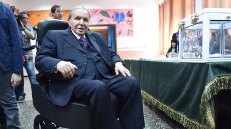 Le président Abdelaziz Bouteflika en mai 2017