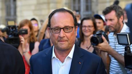L'ex-président de la République François Hollande
