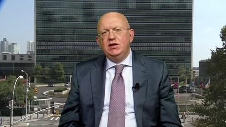 Vassili Nebenzia, représentant permanent de la Fédération de Russie auprès de l'ONU