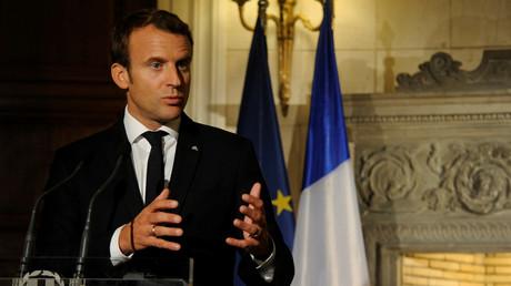 En visite à Athènes, Emmanuel Macron plaide pour la «souveraineté de l'Europe» face au FMI