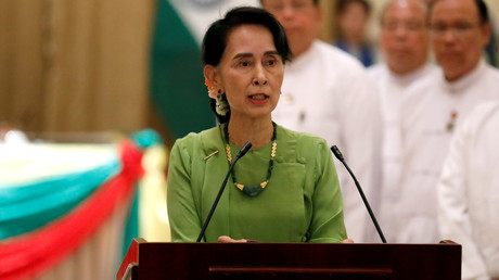 Aung San Suu Kyi le 6 septembre 2017.