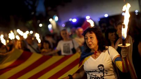 Fête nationale catalane sur fond de tensions pour obtenir l'indépendance