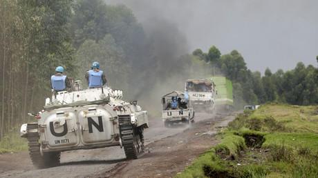 Des Casques bleus en mission à RDC (photographie d'illustration)