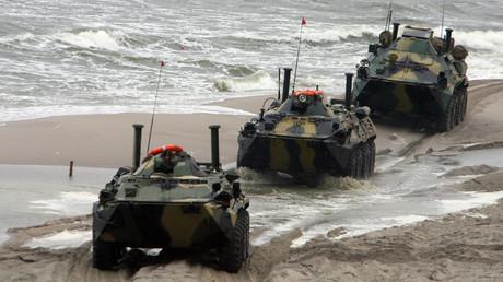 Lors des exercices stratégiques militaires