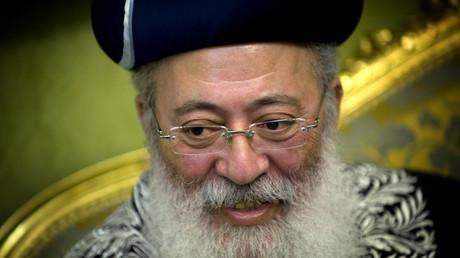 Le rabbin israélien Schlomo Amar