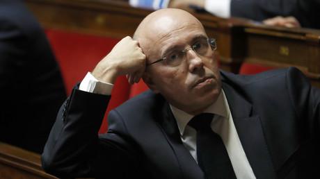 Eric Ciotti, député LR, en février 2017 à l'Assemblée nationale
