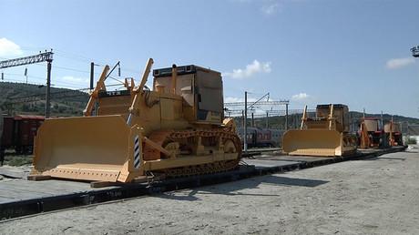 Du matériel de construction sera livré à la Syrie par la Russie