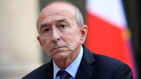 Gérard Collomb, ministre de l'Intérieur, photo ©Bertrand GUAY / AFP