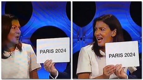 Le maire de Paris a du mal à maîtriser ses émotions