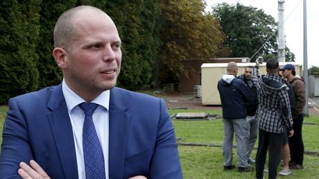 «Nettoyage» de migrants : lesecrétaire d'Etat belge à l'Asile suscite un tollé