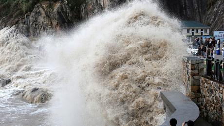 Le typhon Talim menace le Japon