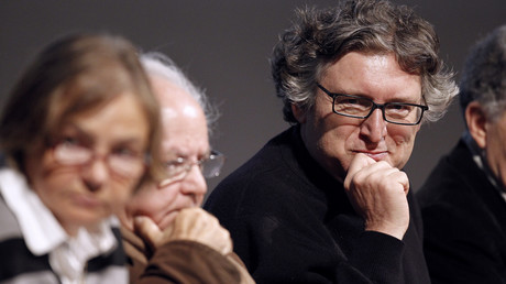 Michel Onfray, ici en 2012, photo ©CHARLY TRIBALLEAU / AFP