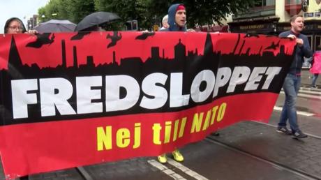 Grande mobilisation contre les manœuvres de l'OTAN en Suède : «Non à la guerre, non à l'OTAN»