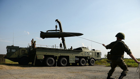 Lors d'un test, un missile balistique russe Iskander-M a été tiré avec succès à sa portée maximale