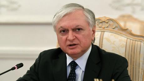 Le ministre arménien des Affaires étrangères Edouard Nalbandian