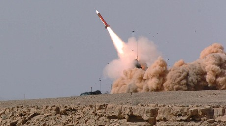 Illustration : tir d'un missile Patriot en Israël, photo ©Reuters
