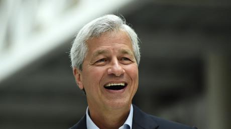 Le PDG de JP Morgan Jamie Dimon