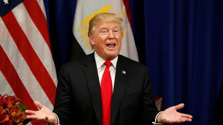 «Nambie» : entouré de chefs d'Etats africains, Donald Trump invente un pays