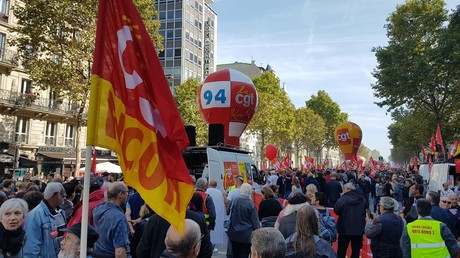 Plus de 100 000 opposants à la réforme du code du travail battent le pavé (PHOTOS, VIDEOS)
