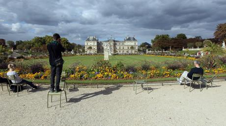 Le palais du Luxembourg, siège du Sénat et ses jardins, illustration ©JACQUES DEMARTHON / AFP