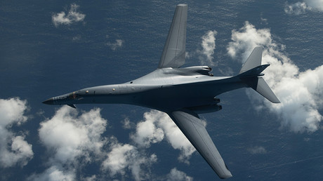 Un bombardier Rockwell B-1 Lancer.
