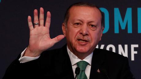 Le président de la Turquie Recep Tayyip Erdogan, photo ©Murad Sezer / Reuters