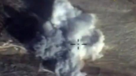 Des frappes russes dans la province d'Idleb en Syrie
