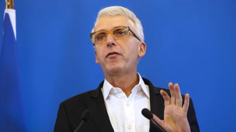 Michel Lussault, ex-président du Conseil supérieur des programmes, le 18 septembre 2015