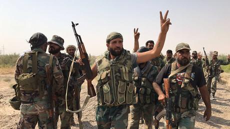 Des soldats syriens (photographie d'illustration)