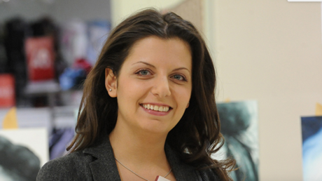 La rédactrice en chef de RT monde, Margarita Simonian
