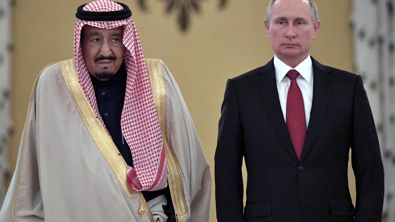 Larabie Saoudite Signe Un Accord Ouvrant La Voie A Lachat De Systemes