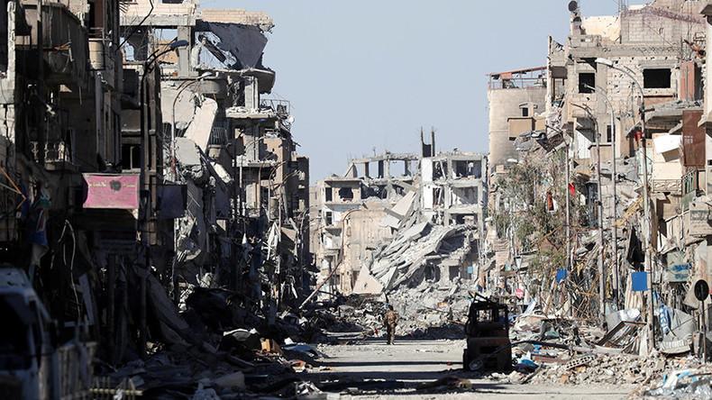 La fin du califat de Daesh «est en vue» après la reprise de Raqqa, selon Donald Trump