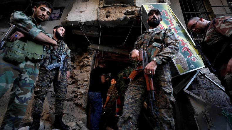 Des armes des pays de l'OTAN découvertes dans un entrepôt de Daesh en Syrie (VIDEO)