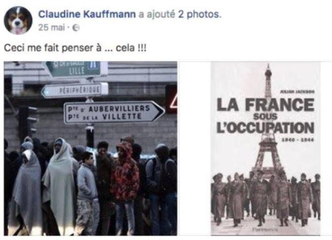 La sénatrice FN qui avait comparé les migrants aux nazis suspendue par le parti