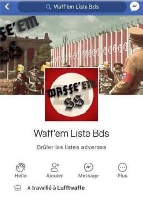 «Waff'EM SS» : un étudiant strasbourgeois inquiété pour un compte Facebook, la LICRA se félicite