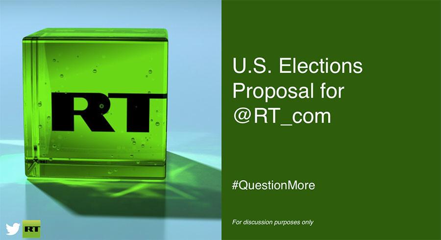 Comment Twitter a incité RT à dépenser plus pour les élections américaines de 2016
