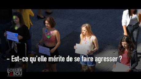 Capture d'écran de l'émission Dossier Tabou du 1er octobre
